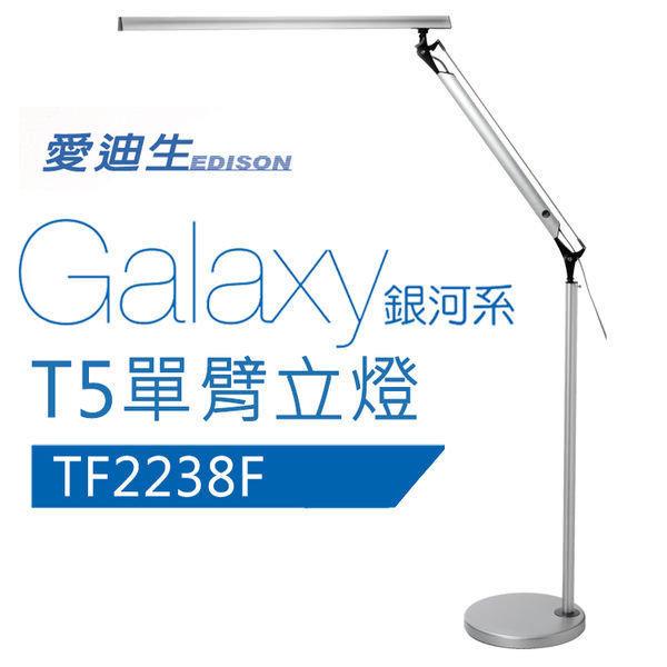 美國奇異 GE 愛迪生 GalaxyII 銀河系T5單臂立燈檯燈 TF-2238F