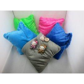 高檔微粒^(粒子^)2合1變形U型枕 午睡枕 頸枕