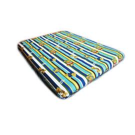 大林小草~【TB-016-泰迪熊款】L號床包 (適用於Outdoor Base 歡樂時光充氣床墊L號及露營達人床墊L