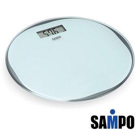 SAMPO聲寶超薄型圓形電子體重計BF-L1302ML  **免運費**