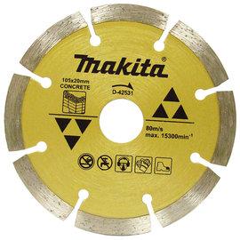 MAKITA牧田 4英吋鑽石鋸片缺口邊105×20mm(D-42531)