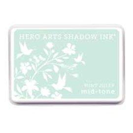 Hero Arts AF246 水性印台 Shadow Ink Mid~Tone Mint