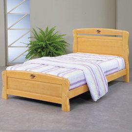 ~ 屋~^~UZ6^~艾莉絲3.5尺檜木加大單人床UZ6~98~3不含床頭櫃~床墊 免 免