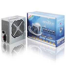蛇吞象 5安規SATA(2) 20+4PIN power/電源供應器 12CM BT-400WL (400W)