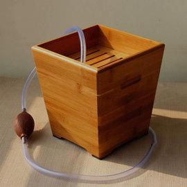 5Cgo~ 七天交貨~ 22570815376 茶水桶茶渣桶 竹茶盤茶道 垃圾桶 茶道 ~