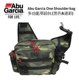 ◎百有釣具◎Abu Garcia One Shoulder bag 多功能單肩包 品番:1396215 時下最流行的屁股包設計