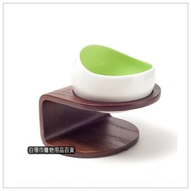 ~白領巾寵物用品 ~MYZOO ~ 時空膠囊碗 ^( 綠色款 ^)