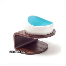~白領巾寵物用品 ~MYZOO ~ 時空膠囊碗 ^( 藍色款 ^)