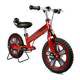 【電話訂購現折/單台4500含運】『CK06-2』英國授權Mini Cooper兒童滑步平衡車12吋(紅)(腳架另購)【贈:草本抗菌洗手乳250ml/原價399元】