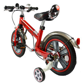【電話訂購現折/單台5600含運】『CK06-6』英國原廠授權Mini Cooper 兒童腳踏車14吋(紅)【贈純植物精油防蚊液 60ml】