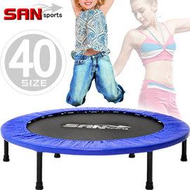 【SAN SPORTS 山司伯特】跳跳樂40吋彈跳床C144-40跳跳床彈簧床彈跳樂彈跳器平衡感兒童遊戲床.運動健身器材推薦哪裡買
