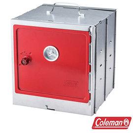 Coleman 折疊式烤箱 紅 CM~3343J 戶外 露營 野炊 煙燻烤箱 煙燻筒 烤肉