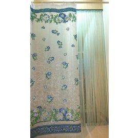 #9829 采緹 #9829 6F2100-1 180*180 PEVA 防水浴簾、乾濕分
