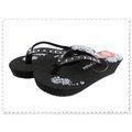 ~~VI~POLA~~ 女人字厚高涼拖鞋 海灘鞋 ^( 紅  藍 ^) ^#328