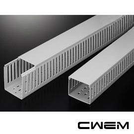~和旺電配~CWAD~3X4 絕緣配線槽  PVC  出線孔8mm 寬高75x100mm