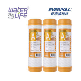 【淨水生活】《EVERPOLL 愛惠浦科技》【公司貨】道爾樹脂濾心 EVB-M100A 樹脂濾心 (3入)
