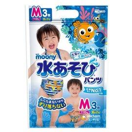 滿意寶寶moony玩水褲-男3片