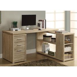 #  電腦桌 康迪仕複合電腦書桌   淺木色   書桌 辦公桌 電腦桌 DIY 產品