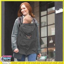 嬰兒 小熊 背袋 背巾 背帶 防風 防水 披風 斗篷【HH婦幼管】