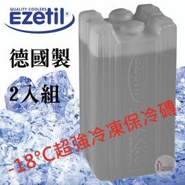 探險家戶外用品㊣886000 德國Ezetil 德國製-18度C超凍媒冷媒430g (2入組) 冰磚保冷劑 冰箱保冷磚 可搭配保冷袋/行動冰桶