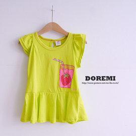 YS6279907 草莓果汁上衣 短袖T~Shirt 版邊小一碼 ~朵蕾咪Do Re Mi