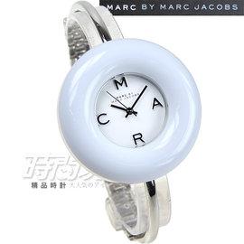 MBM3396 小馬克 Marc by Marc Jacobs 甜甜圈俏麗錶 女錶 白 時
