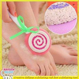 創意 創意 棒棒糖 造型 去角質 搓腳板 去死皮工具 磨腳石 【HH婦幼館】