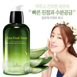 韓國 The Skin House 蘆薈清新水感化妝水^(130ml^)~美麗販售機~
