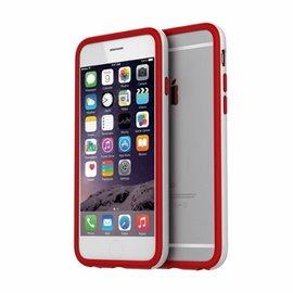 ~ 4折~ 撞色雙層防摔邊框~珍珠白 紅色Araree iPhone 6 6S Plus