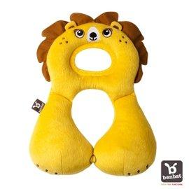 【紫貝殼】『BE02』【以色列Benbat】寶寶旅行頸枕/頭枕  適用1-4歲  獅子【保證公司貨●品質有保證●非水貨】