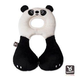 【紫貝殼】『BE02』【以色列Benbat】寶寶旅行頸枕/頭枕  適用1-4歲  熊貓【保證公司貨●品質有保證●非水貨】