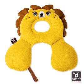 【紫貝殼】『BE01』【以色列Benbat】寶寶旅行頸枕/頭枕 適用0-1歲 獅子【保證公司貨●品質有保證●非水貨】