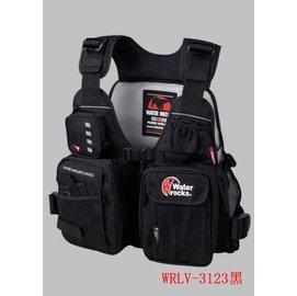 ◎百有釣具◎WATER ROCKS 日系品牌 路亞救生衣 WRLV-3123 超熱賣!! 顏色隨機出貨