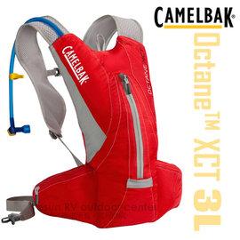 【美國 CAMELBAK】Octane XCT 輕量多功能運動背包/馬拉松水袋背心.水袋背包/附3升吸管水袋/活力紅 CB62231