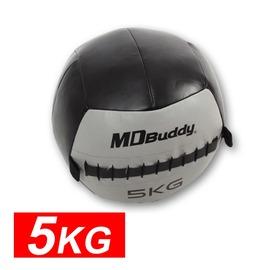 MDBuddy 皮革重力球 5KG(藥球 健身球 韻律 訓練【99301216】≡排汗專家≡