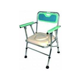 FZK4527鋁合金便器椅~EVA背墊^(子母坐墊^)