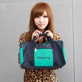 WAIPU 戶外休閒防潑水旅行袋 衣物袋^(綠^)426 ABS愛貝斯夏日輕量戶外旅行袋單