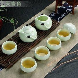 5Cgo ~ 七天交貨~ 41239014421 定窯茶壺雙耳整套茶具茶藝小茶道紅茶杯陶瓷