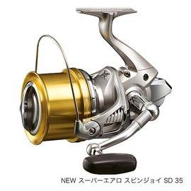 ◎百有釣具◎SHIMANO SUPER AERO SPIN JOY SD 35標準式樣遠投捲線器
