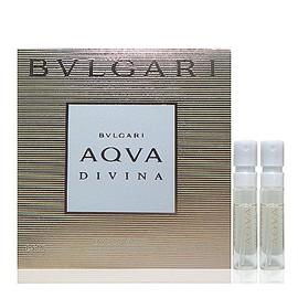 Bvlgari Aqva Divina 海漾淡香水 1.5ml x 2