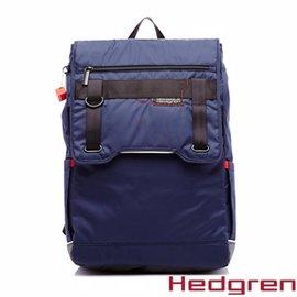 ~HEDGREN~HNW ~New Way 摩登商務系列~方型後背包~靛藍色