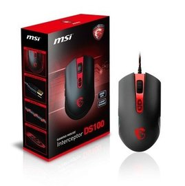 ~鳥鵬電腦~ 含稅 MSI 微星 Interceptor DS100 電競滑鼠 可自定義按