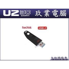 附發票~嘉義U23C~SanDisk CZ48 32G 32GB USB3.0 隨身碟 參