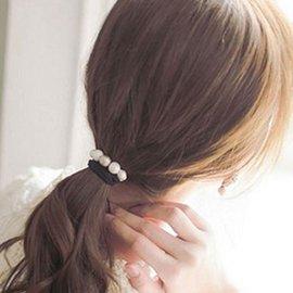 UNICO  磨砂優雅串珠髮繩 髮圈~UA11100391~A0144~