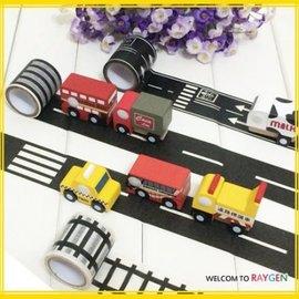 玩具 兒童創意DIY道路火車鐵道規劃紙膠帶 號誌【HH婦幼館】