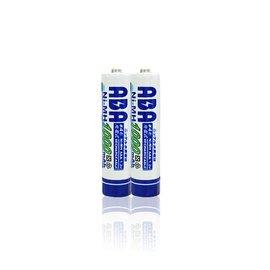 ABA 高容量4號1000mAh鎳氫充電電池^(裸裝2入^)