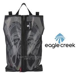 【美國 Eagle Creek】Pack-It  Shoe Sac 旅行鞋子收納袋/旅行包.打理包/可收納平底鞋.低筒鞋_黑 ECD41234010