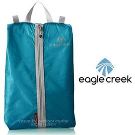 【美國 Eagle Creek】Pack-It Specter Shoe Sac旅行鞋子收納袋/旅行包.打理包/可收納平底鞋.低筒鞋_北卡藍 ECD41239153