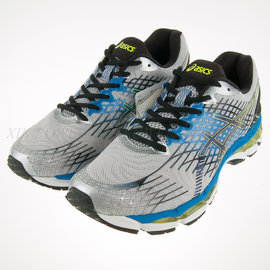 6折出清~ASICS~GEL-NIMBUS 17 4E 超寬楦 路跑 慢跑 鞋 (T509N-9190)