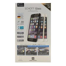 POWER SUPPORT iPhone 6 6s Plus  SCHOTT GLASS